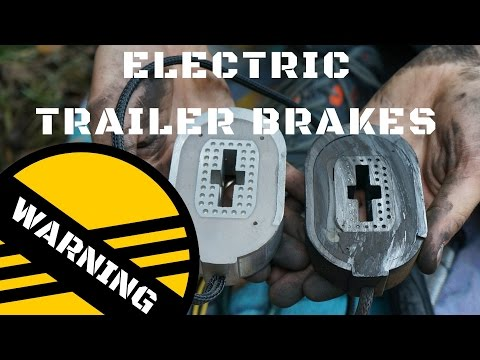 Common Reason for Shorting Trailer Brakes - Electric Trailer Brakes - Check Your Axle Wires
