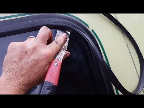 GMC Motorhome Window Rubber Seal Replacement