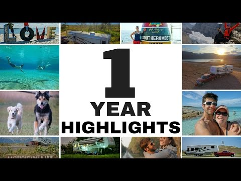 The Best & Worst of Fulltime RV Living - 1 Year on the Road Highlights