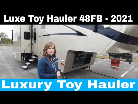 Luxe Toy Hauler 48FB - Product Video luxury toy hauler 2021