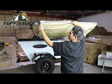 Tuff Stuff Awning Installation and Assembly. 5 Steps to Quick Shade