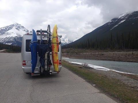 Yakups brand racks fit Motorhomes, fifth wheels and Vans! Carry bikes, Kayaks & Boards! Made-USA