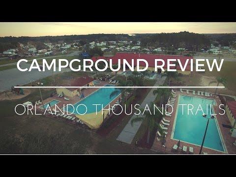 Campground Review - Orlando Thousand Trails