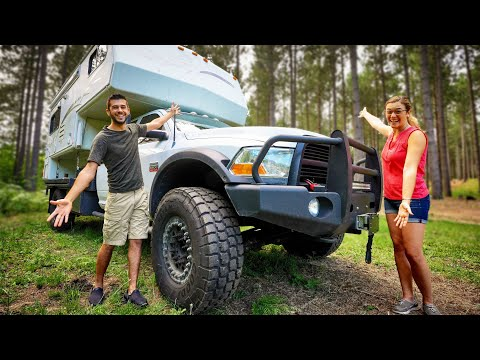 We're Building An Overland Truck Camper Rig! - A Happy And Sad Update From The Mortons On The Move