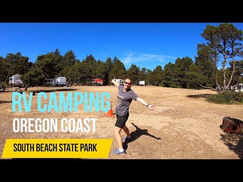 RVING THE OREGON COAST: SOUTH BEACH STATE PARK