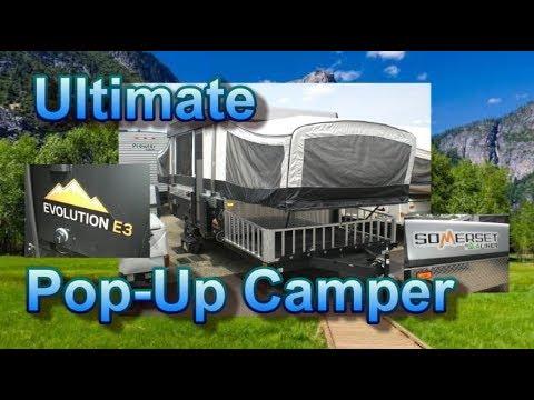 NEW 2018 Somerset Evolution E3 Pop-Up Camper   Mount Comfort RV