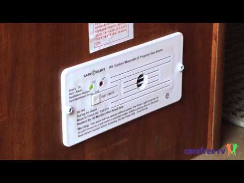 How to test your RV's Carbon Monoxide Detector