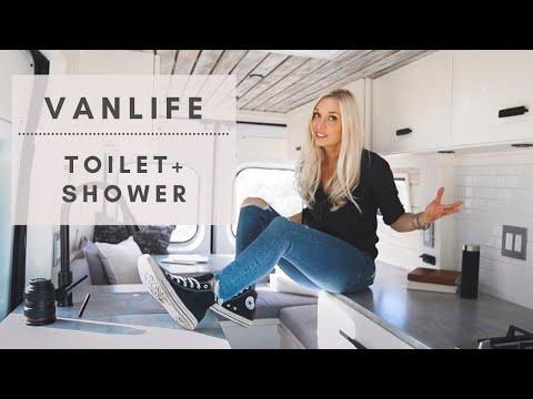 VAN LIFE   Toilet, Shower & Laundry