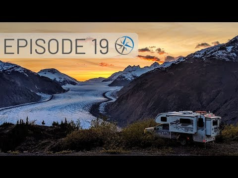 Southbound on the Stewart-Cassiar Highway, Boya Lake, Hyder and the Salmon Glacier   Go North Ep 19
