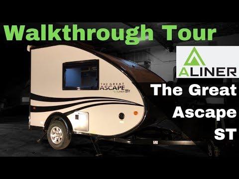 2019 Great Ascape ST Travel Trailer by Aliner Walkthrough Tour