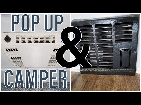 Pop Up Camper Heater & Air Conditioner Basics | Quick-Start & Troubleshooting Guide