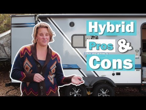 The Best (and Worst) of Hybrid Travel Trailers   Things to Consider When Purchasing a Hybrid Camper