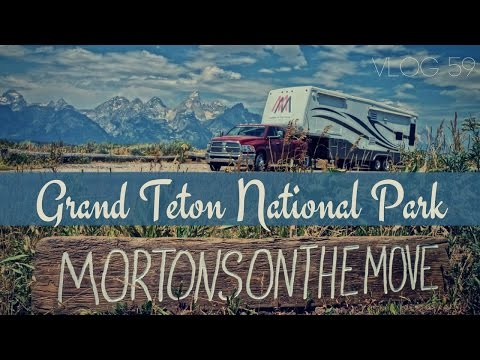 Grand Teton National Park & Jackson Hole, Wyoming   MOTM Vlog #59