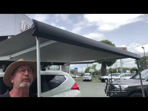 Thule Hideaway Awning Demonstration