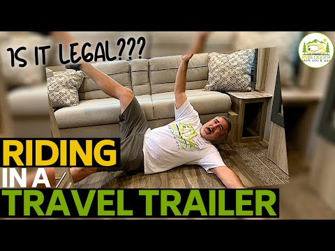 Can I Ride in the Back of a Travel Trailer, 5th Wheel or Truck Camper?