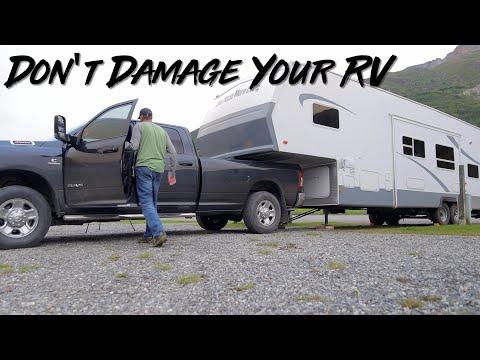 Tug Test For 5th Wheel RVs