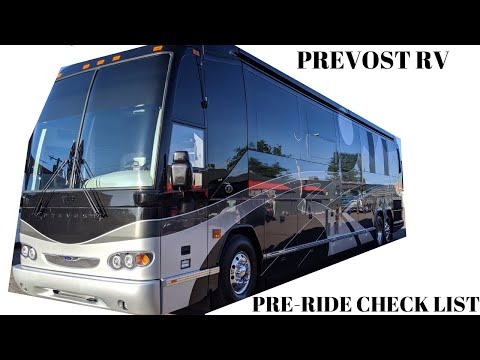 RIDING IN A PREVOST FEATHERLITE COACH FOR THE FIRST TIME