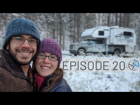 The End of the Journey: Camping in Snow, Mountain Biking, Prince George & Going Home   Go North Ep20