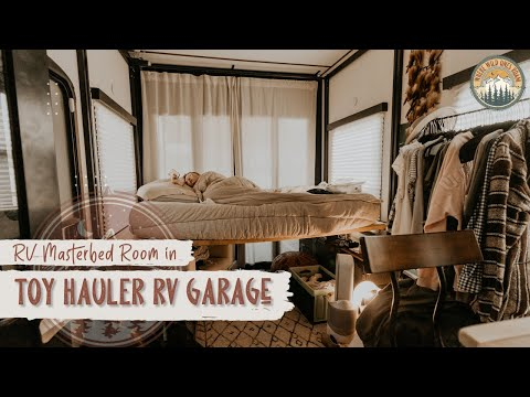 Master Bedroom in the Toy Hauler Area!?