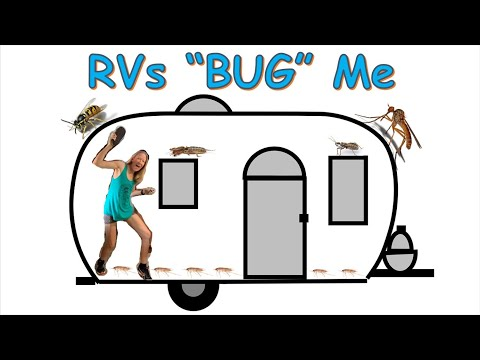 How I keep BUGS out of my RV
