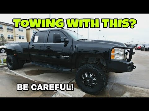 Towing with a lifted truck WARNINGS! And a special update!