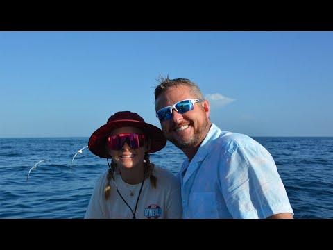 Sydney's Sweet 16th birthday sport fishing off the coast of Key Largo.