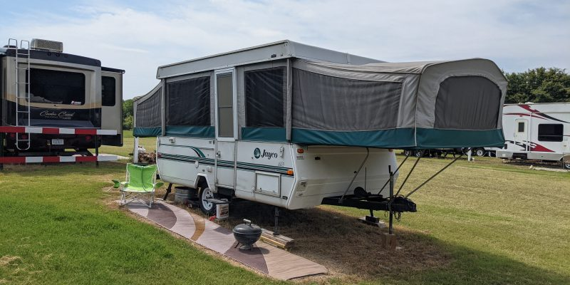 small pop up campers