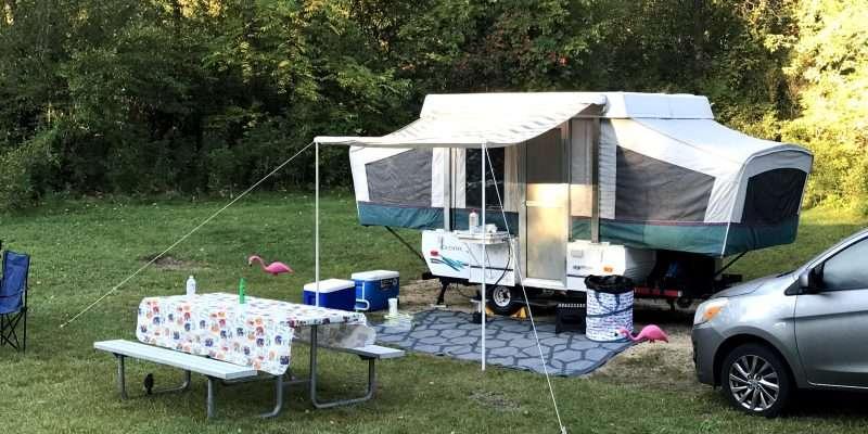 popup camper accessories